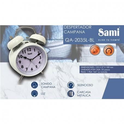 Budilka SAMI QA-2035L različne barve