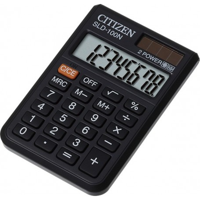 Kalkulator CITIZEN SLD-100N črn