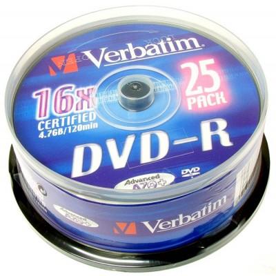 DVD+R VERBATIM 4,7GB 16x 10kos