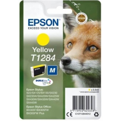 Kartuša EPSON T1284 Y