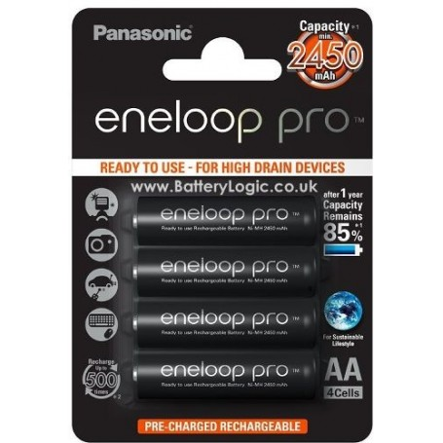 Baterije ENELOOP PRO AA/HR6 4/1